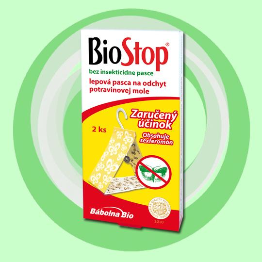 BioStop lepová a monitorovacia pasca na potravinové mole, 2ks/bal