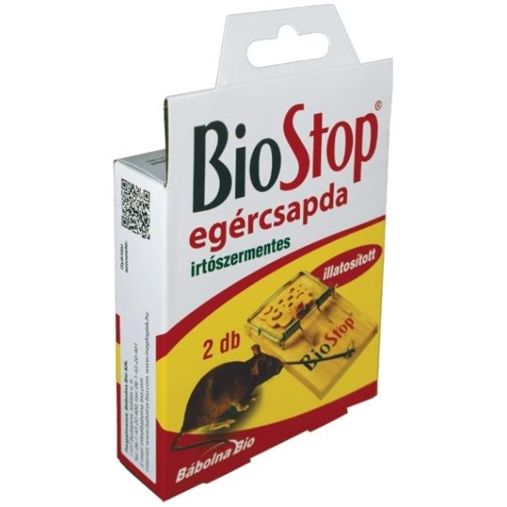 BioStop pasca na myši s aróma návnadou, 2 ks